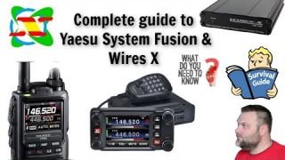 Complete guide to Yaesu System Fusion & Wires X Everything you need to know! C4FM Everything Covered
