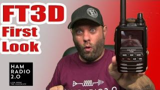 Yaesu FT3D System Fusion HT - First Look